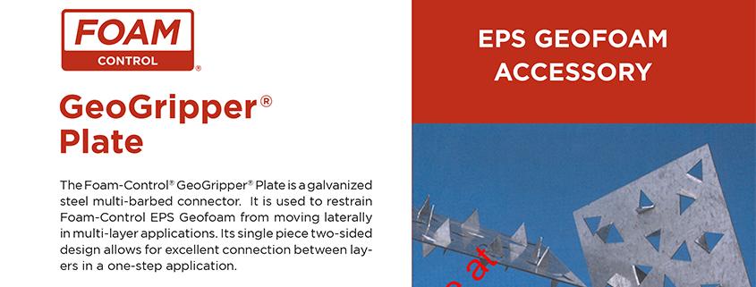 Foam Control GeoGripper Plate