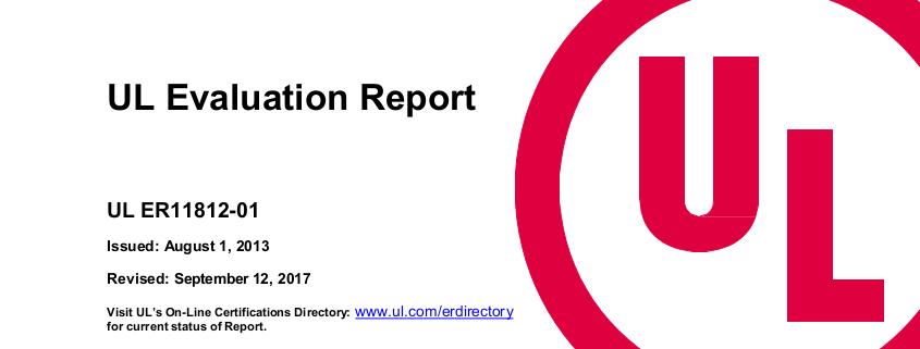 UL report 2018